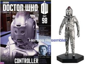 Doctor Who Figurine Collection #098 Cyber Controller Eaglemoss