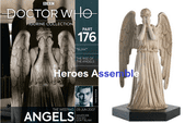 Doctor Who Figurine Collection #176 Weeping Angel Eaglemoss