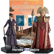 Doctor Who Figurine Collection Missy & Rassilon Time Lords Set 5 Eaglemoss