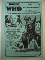 Doctor Who Keys of Marinus CMS In-Vision RARE
