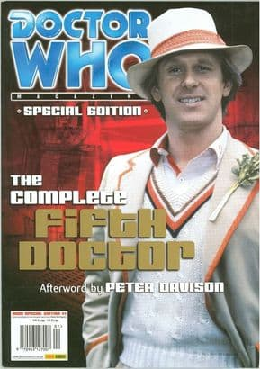 Doctor Who Magazine Special Edition #1 Complete Fifth Doctor Peter Davison Dr Panini Magazines
