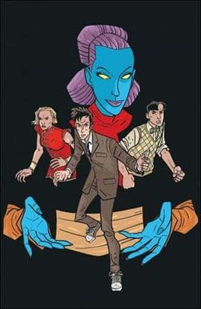 Doctor Who Ongoing #11 Grist Retail Virgin Variant Cover (2010) IDW Publishing comic book