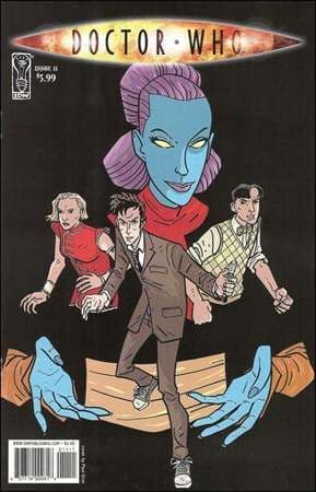 Doctor Who Ongoing #11 Paul Grist Cover (2010) IDW Publishing comic book