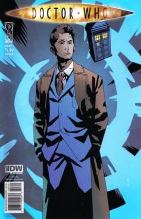 Doctor Who Ongoing #3 Cover B (2009) IDW Publishing comic book