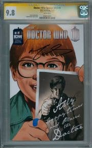 Doctor Who Special 2013 #1 CGC 9.8 Signature Series Signed Matt Smith IDW comic book