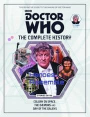 Doctor Who The Complete History Volume #02 Collectors Hardback Book Hachette Partworks