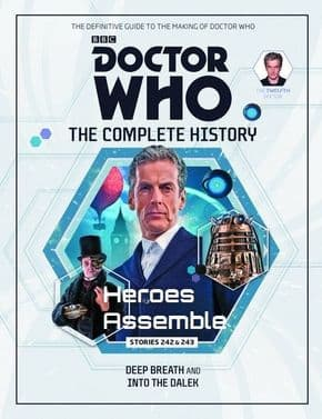 Doctor Who The Complete History Volume #03 Collectors Hardback Book Hachette Partworks