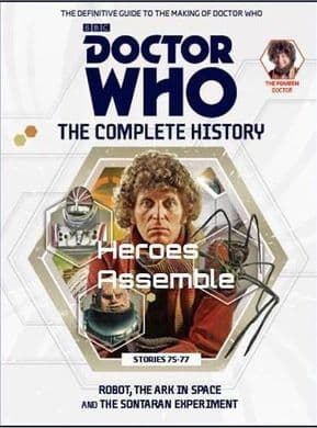Doctor Who The Complete History Volume #06 Collectors Hardback Book Hachette Partworks