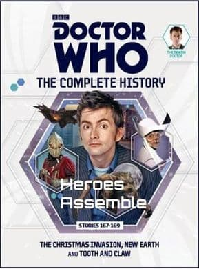 Doctor Who The Complete History Volume #07 Collectors Hardback Book Hachette Partworks