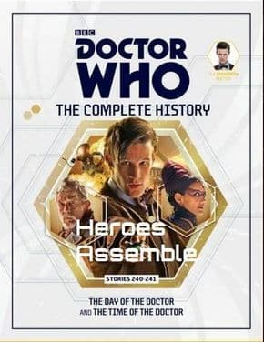 Doctor Who The Complete History Volume #10 Collectors Hardback Book Hachette Partworks