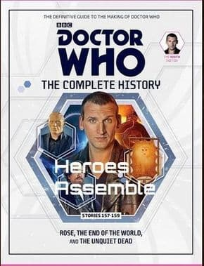 Doctor Who The Complete History Volume #12 Collectors Hardback Book Hachette Partworks