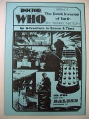 Doctor Who The Dalek Invasion of Earth CMS In-Vision RARE