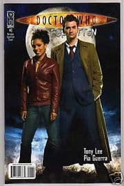 Doctor Who The Forgotten #1 Retail Incentive Variant (2008) Dr David Tennant IDW Publishing comic book