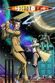 Doctor Who The Forgotten #3 (2008) Dr David Tennant IDW Publishing comic book