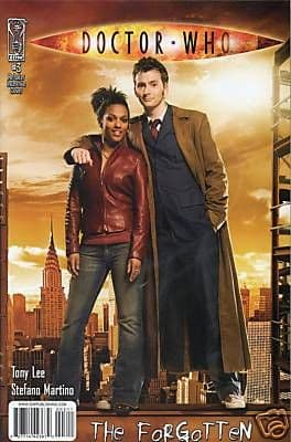 Doctor Who The Forgotten #3 Retail Incentive Variant (2008) Dr David Tennant IDW Publishing comic book