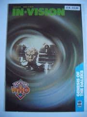 Doctor Who The Genesis of the Daleks In-Vision #4 RARE Davros