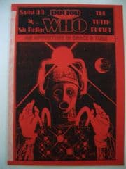 Doctor Who The Tenth Planet CMS In-Vision RARE Cybermen