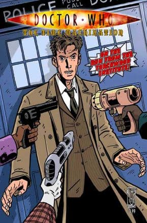 Doctor Who: The Time Machination (2009) IDW Publishing comic book