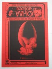 Doctor Who The Wheel In Space CMS In-Vision RARE Cybermen