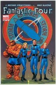 Fantastic Four #527 Variant Dynamic Forces Signed Dick Ayers DF COA Ltd 25 Marvel comic book