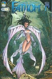 Fathom #1 Michael Turner Cover (2008) Aspen comic book