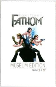 Fathom #12 West Coast Tour Museum Edition AP Michael Turner Cover Jay Company Comics