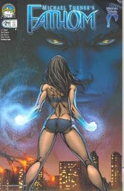 Fathom #2 Cover A Garza (2008) Aspen comic book