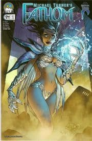 Fathom #2 Cover B Gunnell (2008) Aspen comic book