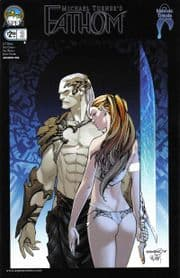 Fathom #3 Cover B Talent Caldwell (2008) Aspen comic book