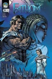 Fathom #4 Cover D Garza (2008) Aspen comic book