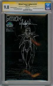 Fathom V2 #0C Wizard World VIP Negative Variant CGC 9.8 Signature Series Signed Michael Turner