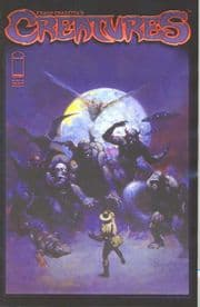Frank Frazetta's Creatures #1 Cover A (2008) Image comic book