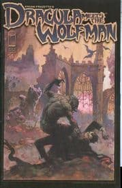 Frank Frazetta's Dracula Meets The Wolfman #1 Cover A (2008) Image comic book