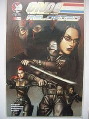 G.I. Joe Reloaded #1 DF Gold Foil COA