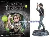 Game Of Thrones Official Collector's Models #05 Arya Stark Figurine & Magazine Eaglemoss