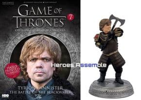 Game Of Thrones Official Collector's Models #07 Tyrion Lannister Figurine & Magazine Eaglemoss