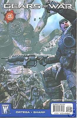 Gears Of War #5 Video Game Retail Variant (2009) DC Wildstorm comic book