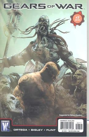 Gears Of War #7 (2009) Simon Bisley DC Wildstorm comic book