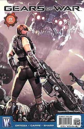 Gears Of War #9 Video Game Retail Variant (2009) DC Wildstorm comic book