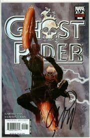 Ghost Rider #1 Ribic Retail Variant Dynamic Forces Signed Garth Ennis DF COA Ltd 30 Marvel comic