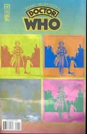 Grant Morrison's Doctor Who #1 Retail Variant (2008) IDW Publishing comic book