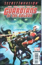 Guardians Of The Galaxy #5 (2008) Secret Invasion Marvel comic book