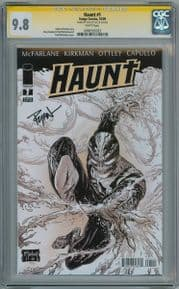 Haunt #1 First Print CGC 9.8 Signature Series Signed Ryan Ottley Image comic book