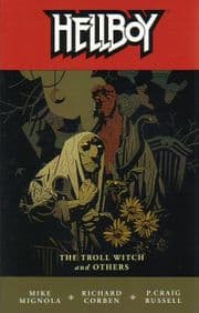 Hellboy Troll Witch & Others Graphic Novel Trade Paperback Mike Mignola Dark Horse Comics