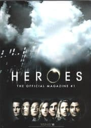 Heroes Official Magazine #1 PX Variant Cover Titan Magazines