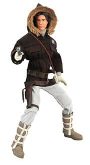 Hoth Han Solo Ultimate Quarter Scale UQS Action Figure With Sound Diamond Select Toys MIB