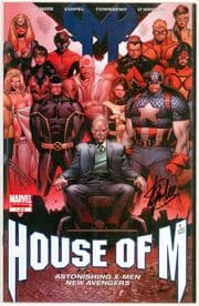 House Of M #1 Variant Dynamic Forces Signed Stan Lee DF COA #1  Marvel comic book