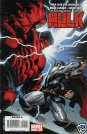 Hulk #5 Red McGuinness Cover A (2008) Thor Marvel Comic book