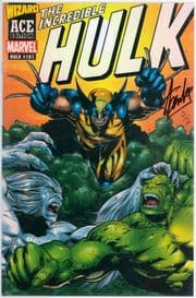 Incredible Hulk #181 Wizard Ace Dynamic Forces Signed Stan Lee DF COA Ltd 2 1st App Wolverine Marvel