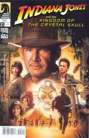 Indiana Jones Kingdom Of The Crystal Skull #2 Struzan Cover B (2008) Dark Horse comic book